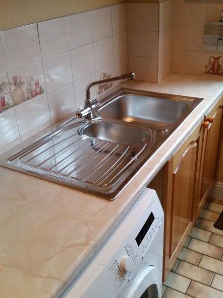New Kitchen Sink Installation