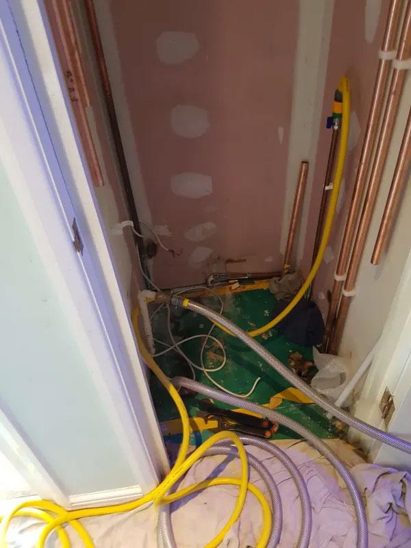 Worcester system boiler & unvented cylinder