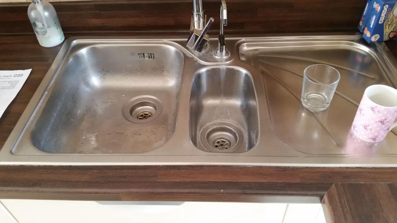 kitchen sink installation Basingstoke