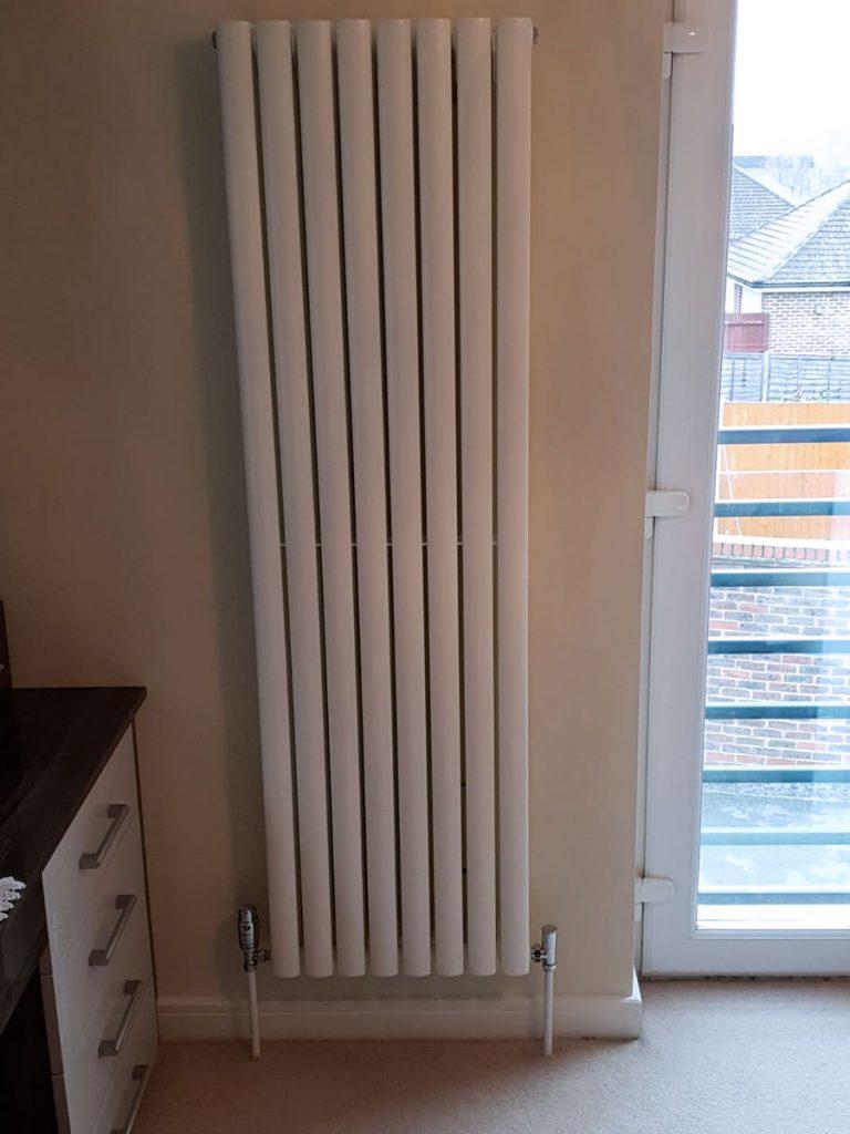 vertical radiator installation basingstoke